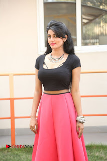 Telugu Actress Harini Stills at Dhyavudaa Movie Teaser Launch  0154.JPG
