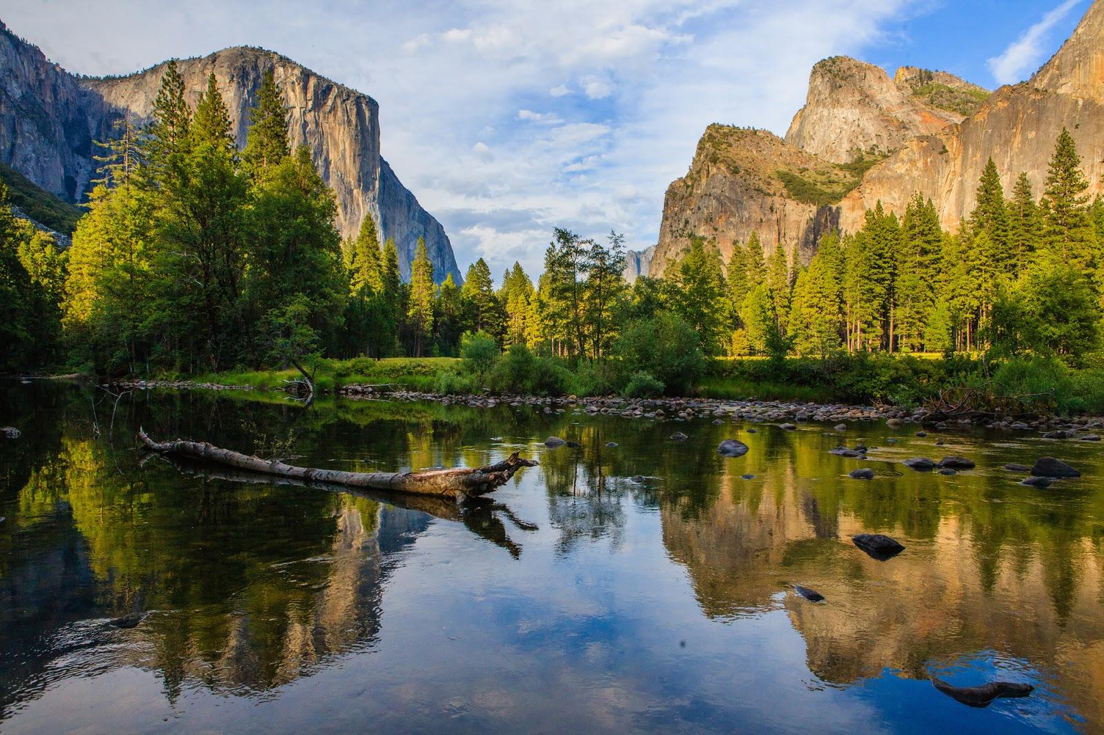 valley view yosemite california