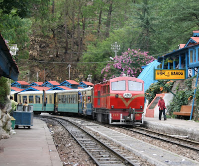Kalka-Shimla Express- The Toy Train.