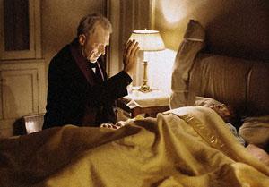 Max von Sydow y Linda Blair en El exorcista