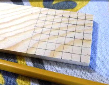 kayu di tandai
