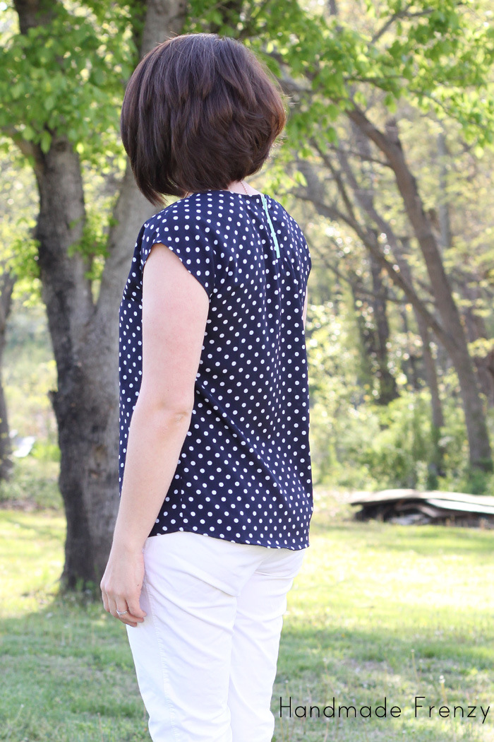 The Zippy Top - A Pattern By See Kate Sew