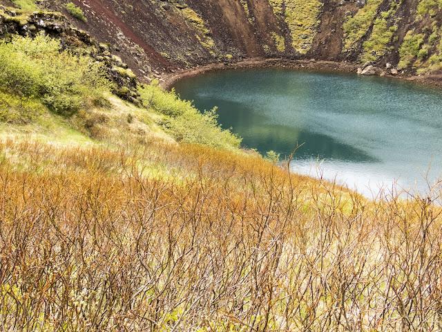 Self-drive around Iceland's Golden Circle: Kerið Crater Lake