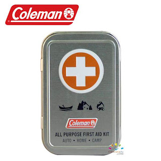 COLEMAN All Purpose Emergency Pocket First Aid Tin (27 Pieces)
