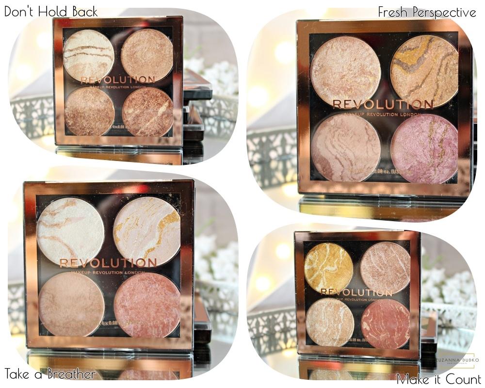 paleta do konturowania Makeup Revolution Cheek Kit