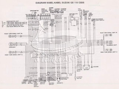 Diagram Kelistrikan Suzuki Tornado GS 110