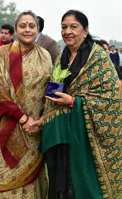 Ms. Bharti Singh with Ms. Radha Bhatia (Chairperson, Bird Group)