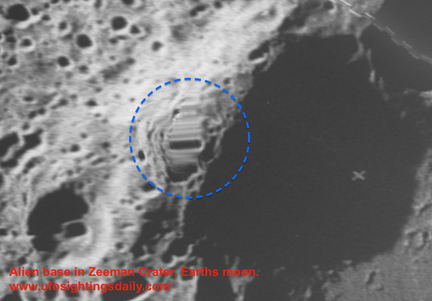 UFO SIGHTINGS DAILY: 3 Ways To Find Alien Base On Moon In ...