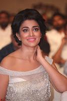 Shriya Saran in Stunning White Off Shoulder Gown at Nakshatram music launch ~  Exclusive (117).JPG