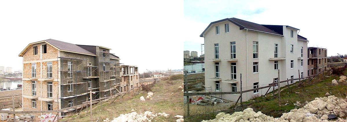 Утепление пенопластом наружных стен в Севастополе