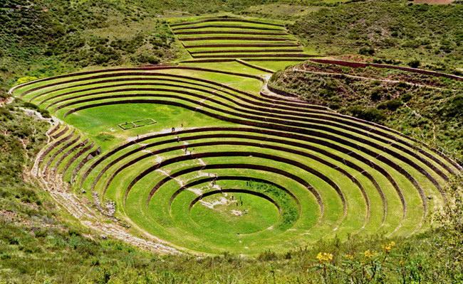 Xvlor.com Moray is ruins of Inca Empire agricultural laboratory complex