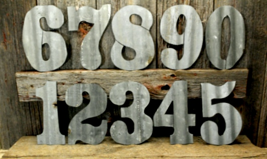 Rustic Metal Letters And Numbers Captivating Kammy's Korner Make Rustic Metal Letter Art  & Win The Letters Inspiration