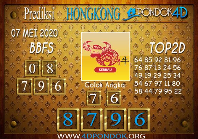 Prediksi Togel HONGKONG PONDOK4D 07 MEI 2020