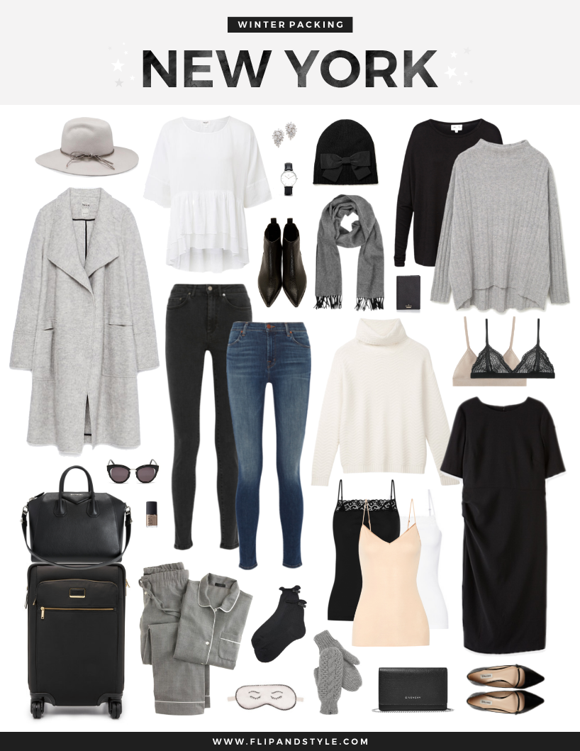 Packing for winter in new york flip and style for Traveling to new york in december