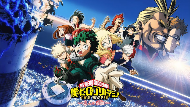 Boku no Hero Academia the Movie: Futari no Hero English Sub/Dub