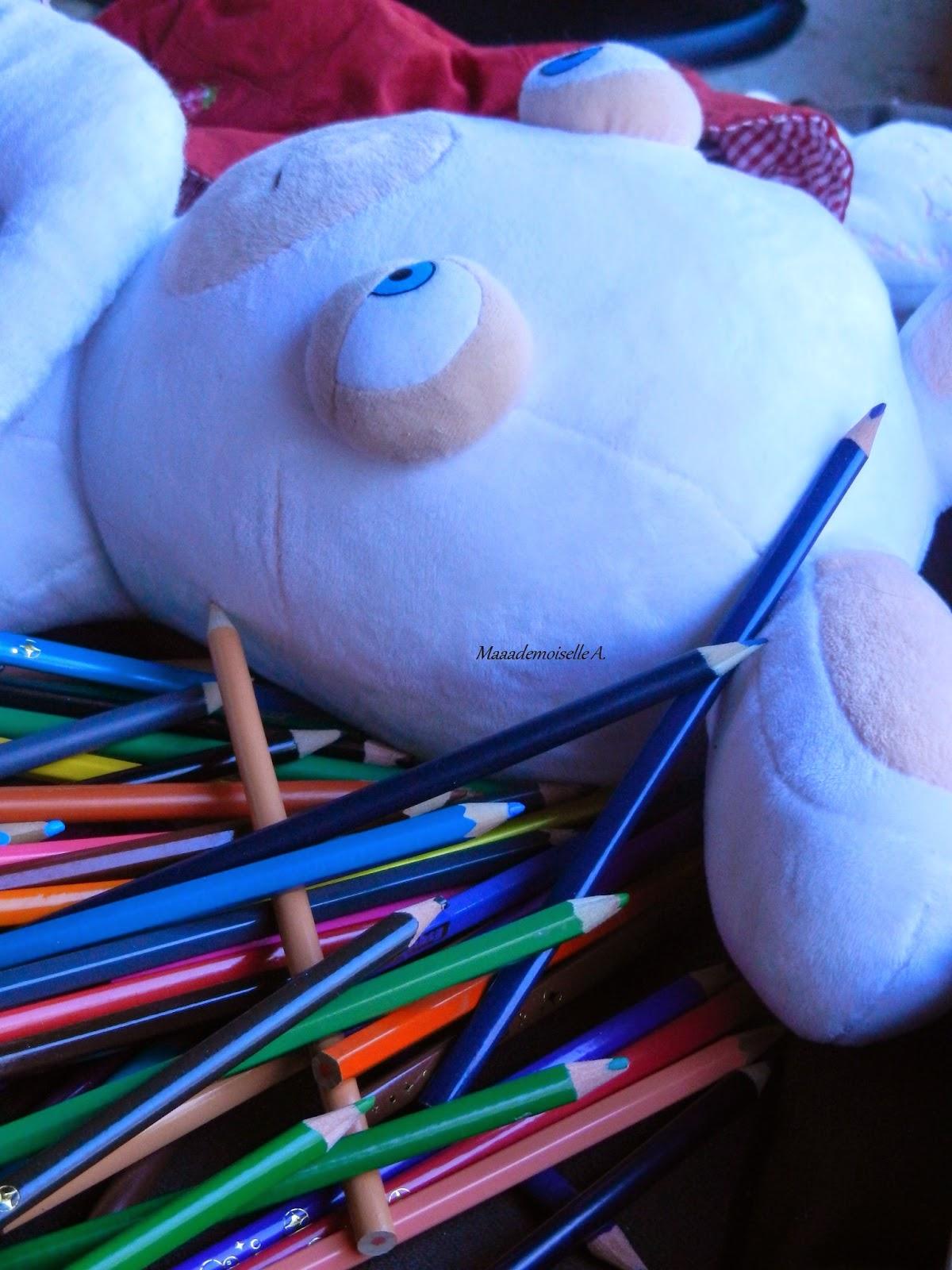 || Depuis que je suis maman... - Lapin crétin et crayons de couleurs