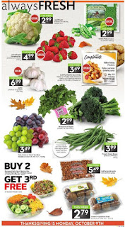 Sobeys Ontario flyer October 06 - 12, 2017