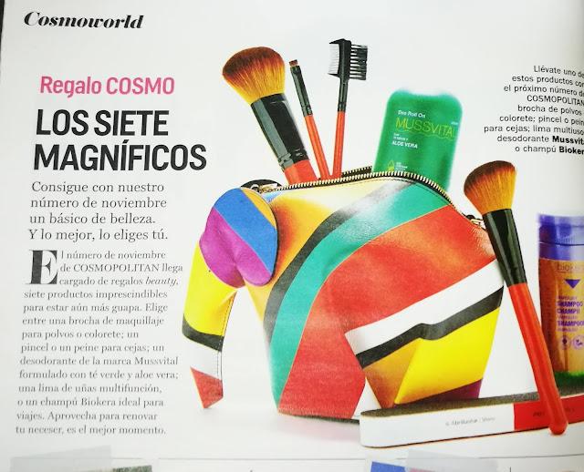 Revista Cosmopolitan octubre 2018 cuidarsealos50