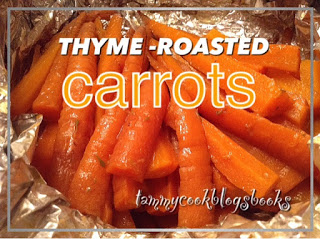 Thyme-Roasted Carrots RecipeReview #TasteOfHomeTuesday