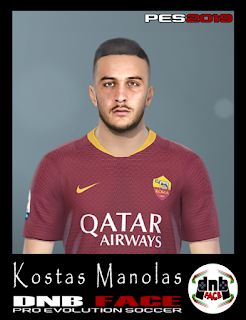 PES 2019 Faces Kostas Manolas by DNB