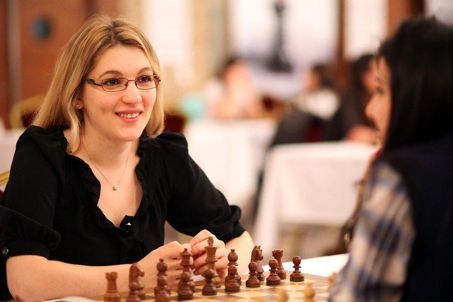 Le Grand Prix Féminin d'échecs de Batoumi avec Almira Skripchenko