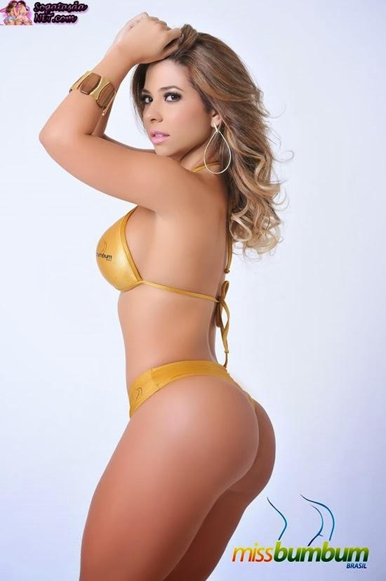 Paloma Gomes é modelo e dançarina e concorre pelo Rio de Janeiro.