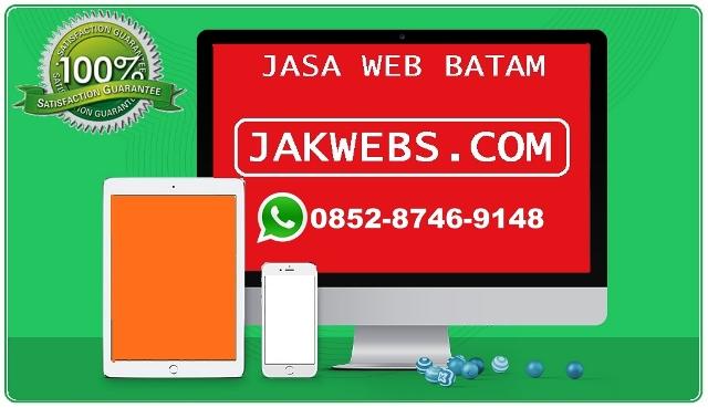 Jasa pembuatan website murah Batam