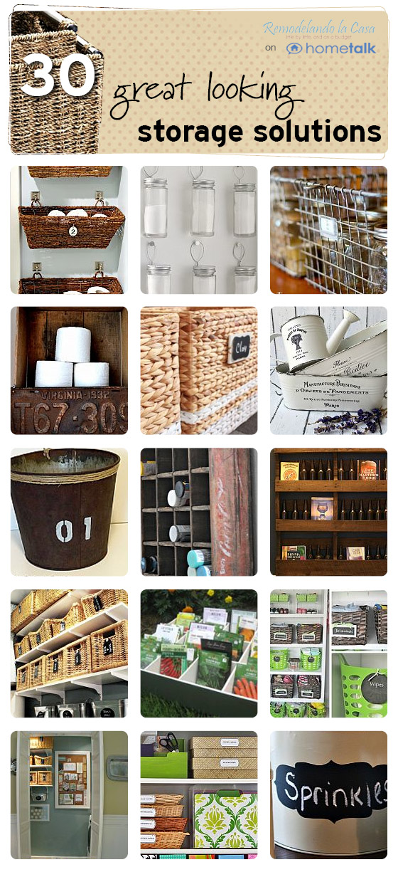 30 great looking storage solution for around the home