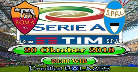 Prediksi Bola855 AS Roma vs Spal 20 Oktober 2018