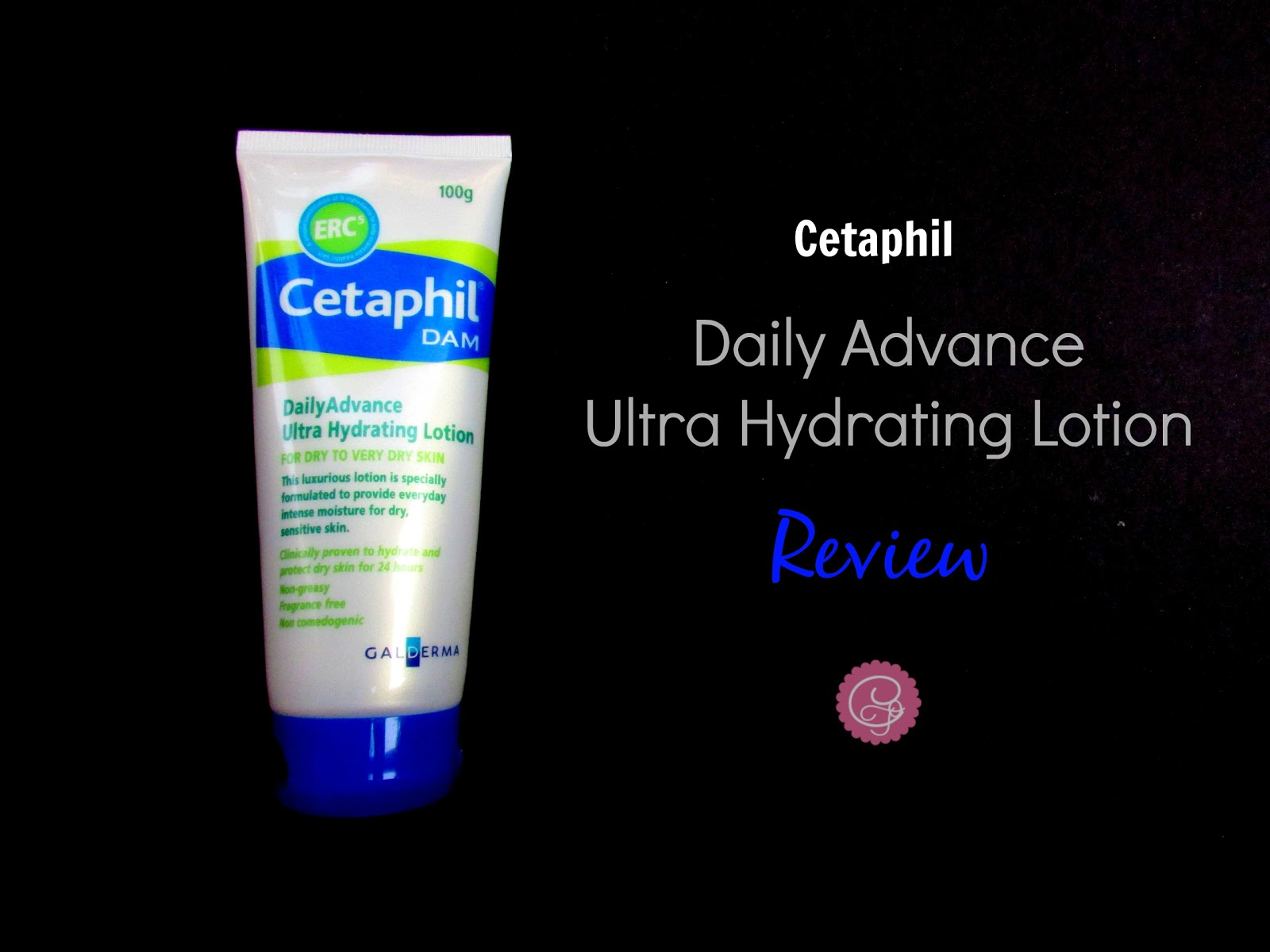 Cetaphil Daily Advance Ultra Hydrating Lotion Review| cherryontopblog.com