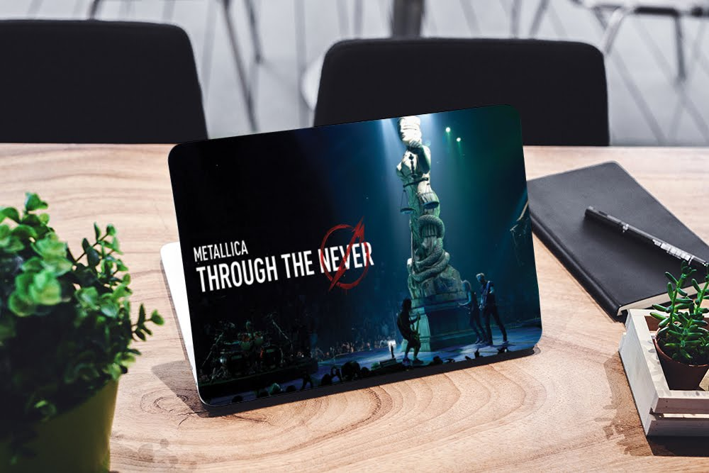 Metalica Laptop Skin