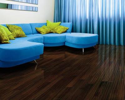 Sàn gỗ tự nhiên chiu liu lắp đặt phòng khách