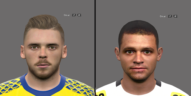 PES 2016 Facepack David de Gea & Edinho