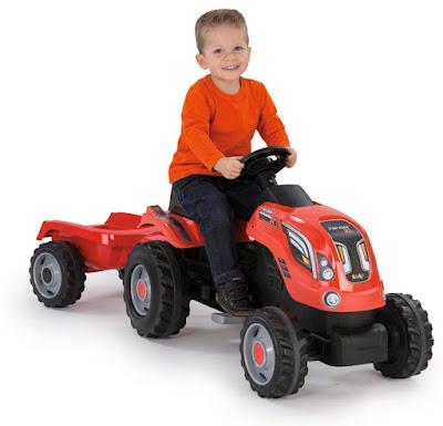 TOYS : JUGUETES - Smoby Tractor farmer xl con remolque 2016 | Comprar en Amazon España