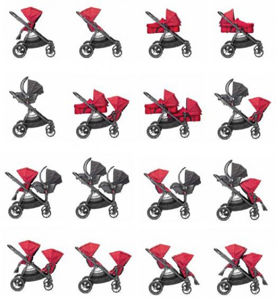 92fe0a985d66 Baby Jogger City Select Twin Tandem Stroller