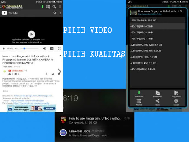 Inilah 2 Cara Mengunduh Video YouTube di Android (Offline & Online) 4