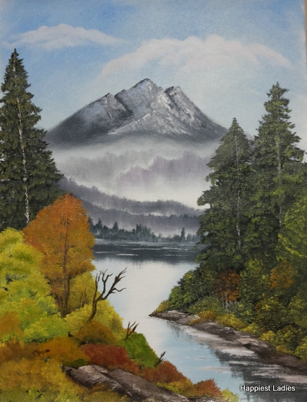 buy bob ross painting summer grandeur