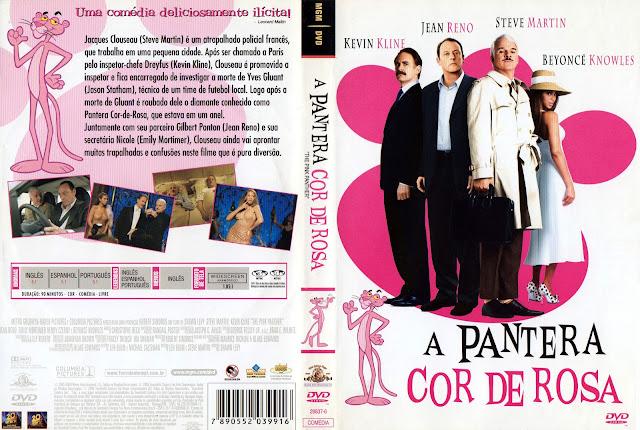 Capa DVD A Pantera Cor de Rosa