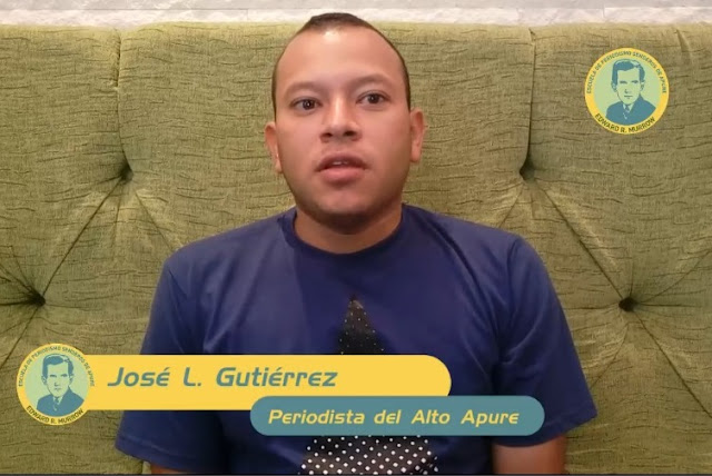 VIDEO: Clase Virtual con Periodista del Alto Apure José  Gutiérrez sobre emprendimiento en frontera venezolana.