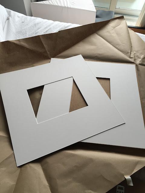 custom framing mats