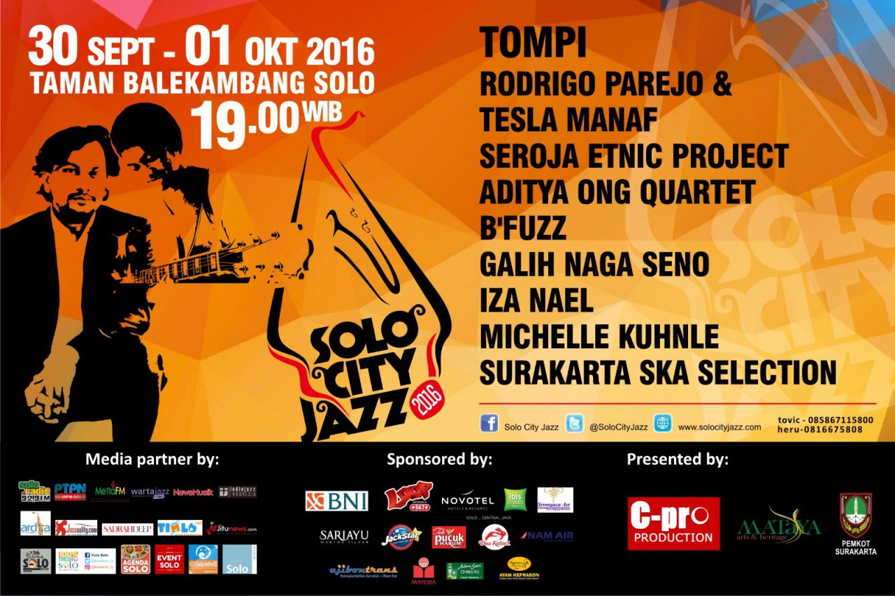 Solo City Jazz 2016
