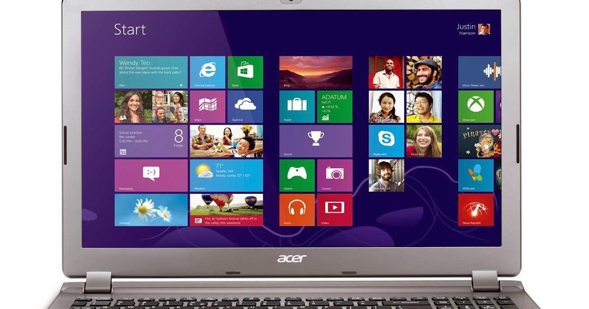New Drivers: Acer Aspire V7-582P Broadcom WLAN