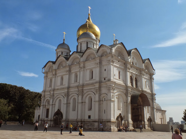 Catedral del Arcángel Miguel en Moscú