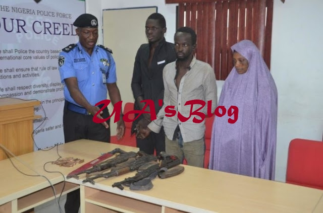 Notorious Female Armed Robber Who Leads A Deadly Kidnap Gang Captured By AIG Strike-Force (Photo)