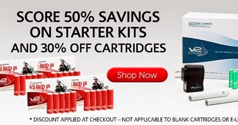 Coupon codes for v2 electronic cigarettes