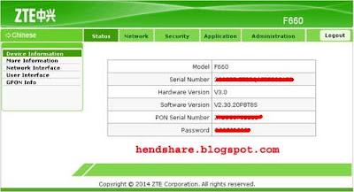 Cara Menyembunyikan Nama Wifi / SSID Wifi di Modem Zte F660