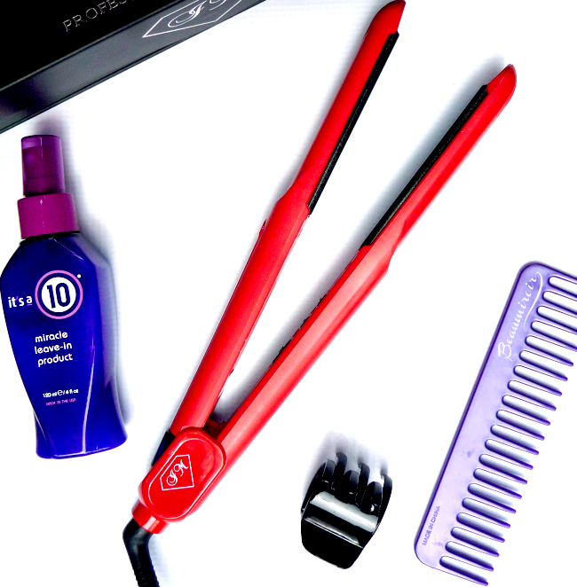 Review of Irresistible Me Diamond Professional Styling iron