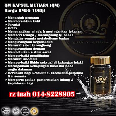 qm queen of mutiara khasiat kebaikan fungsi