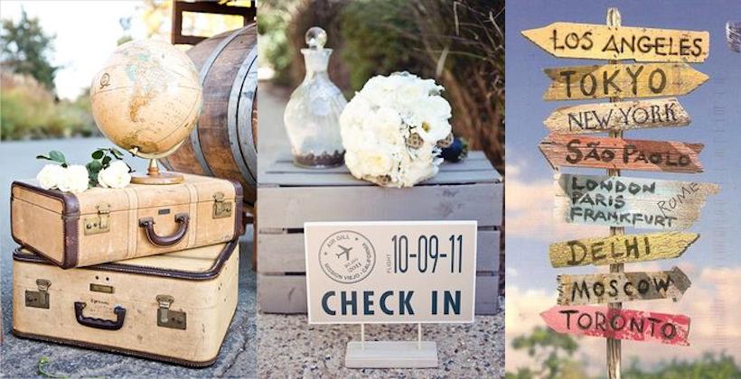 Matrimonio Tema Viaggio Idee : Matrimonio a tema viaggio lovely wedding