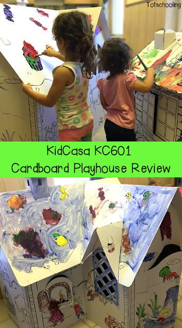 KidCasa KC601 Cardboard Playhouse Review